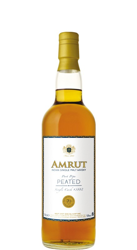 Amrut Port Pipe Single Cask 3882 - 70° Anniversario Velier