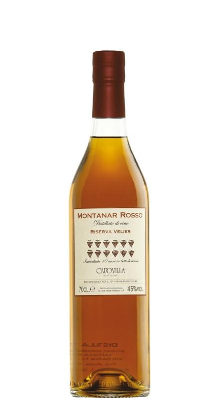 Capovilla Distillato Di Vino Montanar Rosso - 70° Anniversario Velier