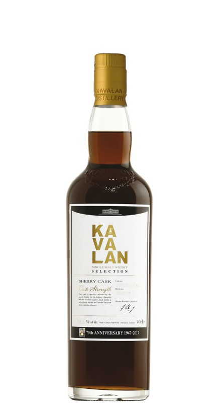 Kavalan Sherry Single Cask - 70° Anniversario Velier
