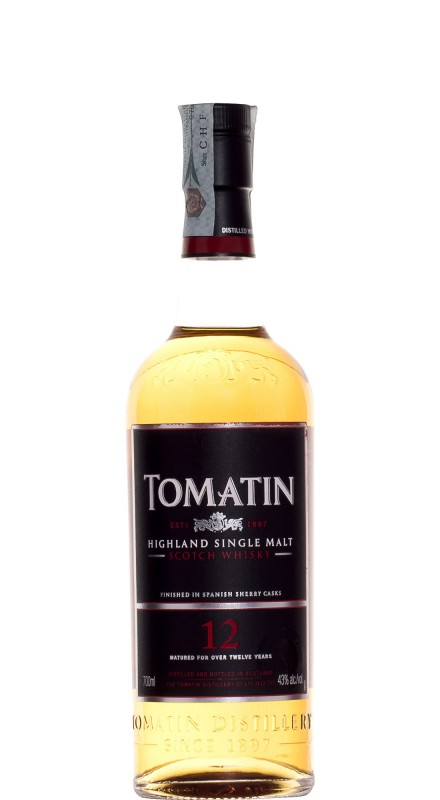 Tomatin 12 Y.O. Single Malt Whisky