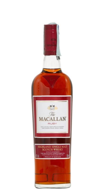 Macallan Ruby Single Malt Whisky