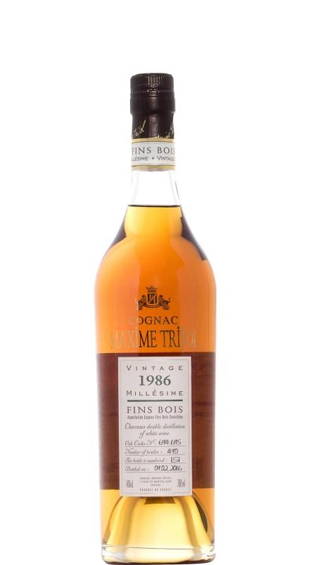 Maxime Trijol Fins Bois 1986 Cognac