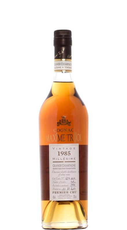Maxime Trijol 1985 Grande Champagne Cognac