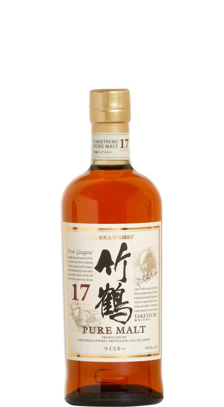 Nikka Taketsuru 17 Y.O. Single Malt Whisky