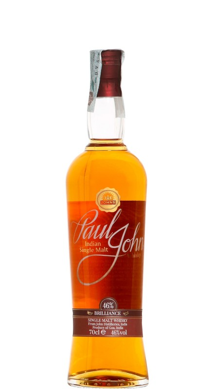 Paul John Brilliance Single Malt Whisky