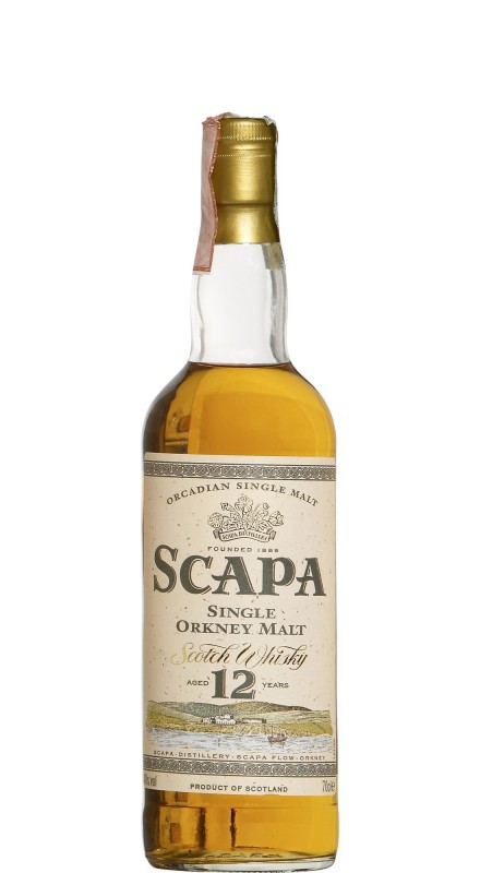 Scapa 12 Y.O. Single Malt Whisky