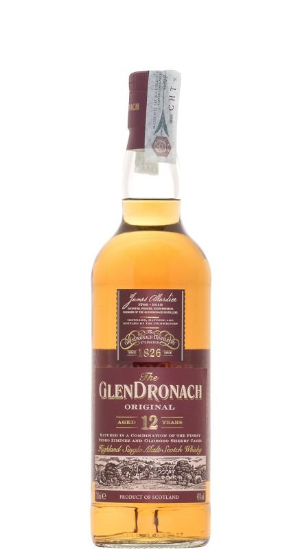 Glendronach 12 Y.O. Original Single Malt Whisky