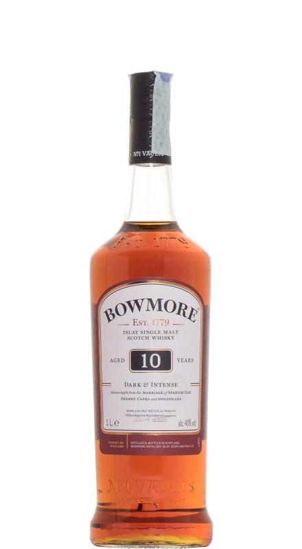 Bowmore 10 Y.O. Dark Et Intense Single Malt Whisky
