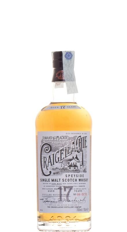 Craigellachie 17 Y.O. Single Malt Whisky