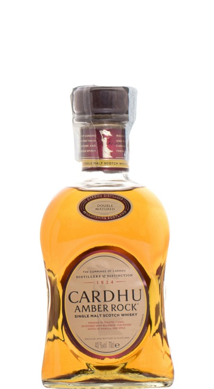 Cardhu Amber Rock Single Malt Whisky