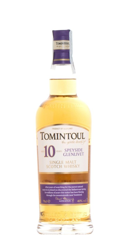 Tomintoul 10 Y.O. Single Malt Whisky