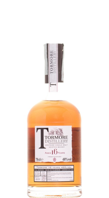 Tormore 16 Y.O. Single Malt Whisky