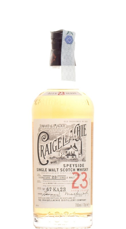 Craigellachie 23 Y.O. Single Malt Whisky