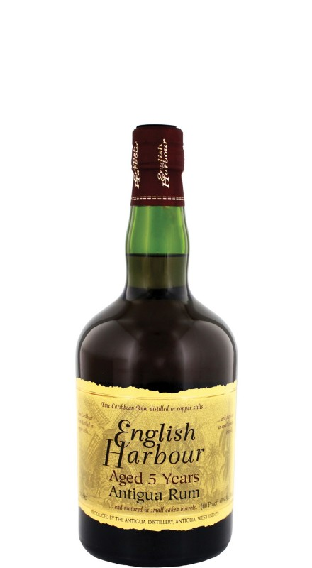 English Harbour Reserve 5 Years Old Rum