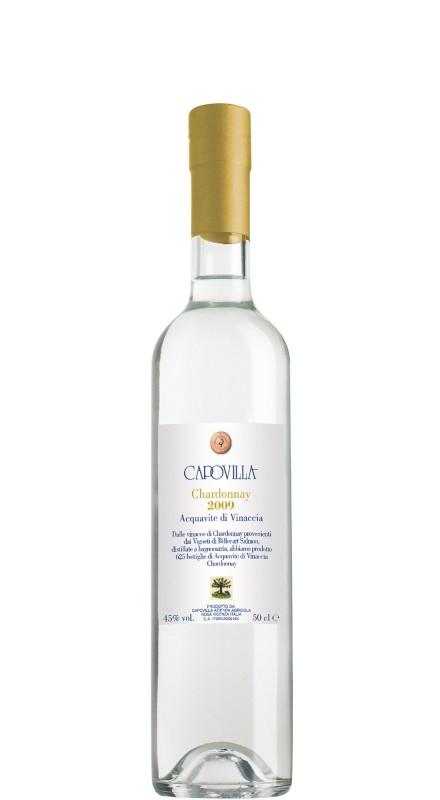 Capovilla Acquavite di vinacce Chardonnay 2009