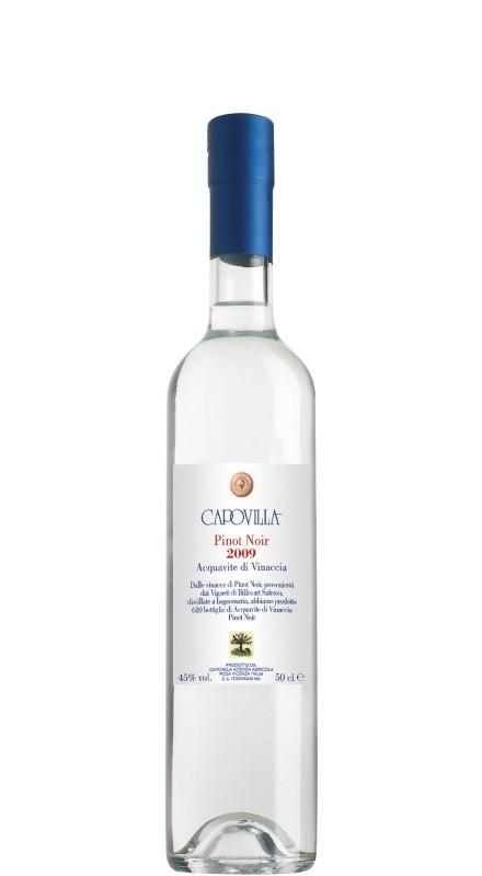 Capovilla Acquavite di Vinacce Pinot Noir Billecart 2009