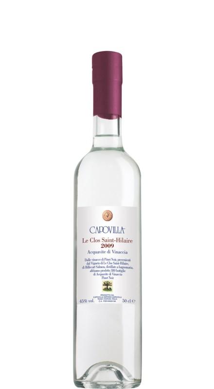 Capovilla Acquavite di Vinacce 2009 da Le clos St. Hilaire