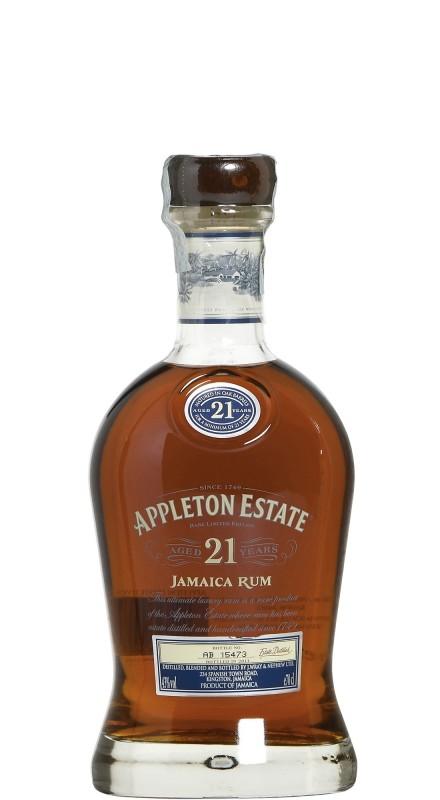 Appleton Estate 21 Y.O. Rum