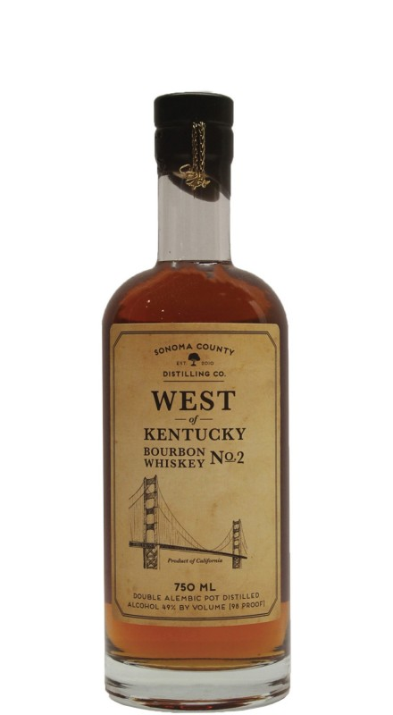 Sonoma County West Of Kentucky Bourbon No. 2