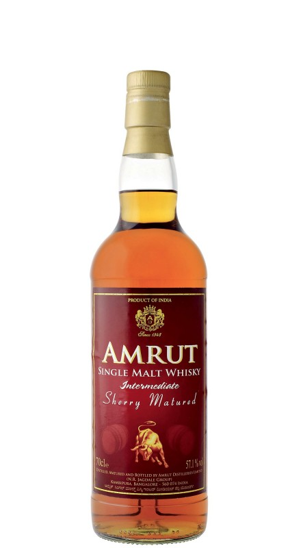 Amrut Sherry Matured Single Malt Whisky