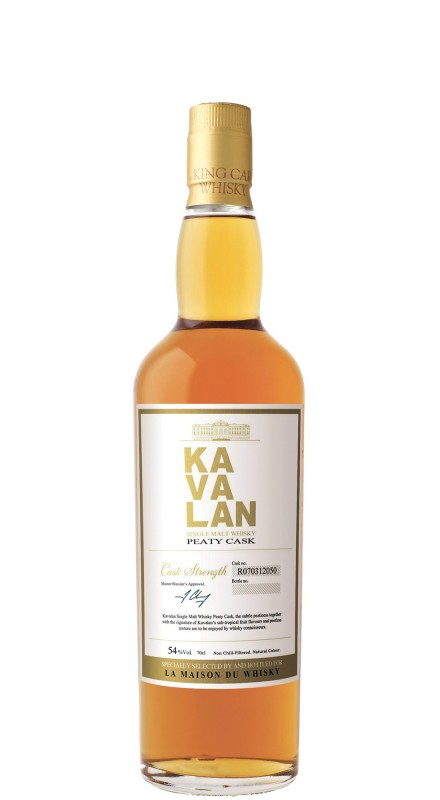 Kavalan Peaty Cask Single Malt Whisky