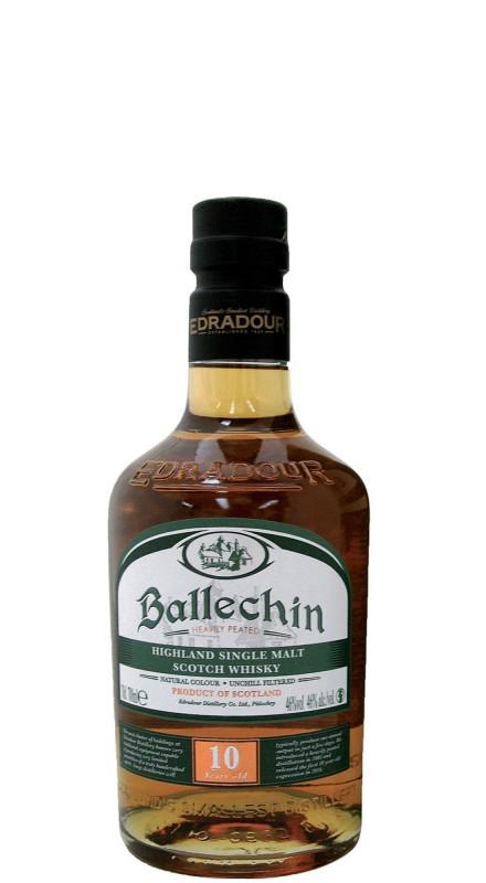 Edradour Ballechin 10 Y.O. Single Malt Whisky