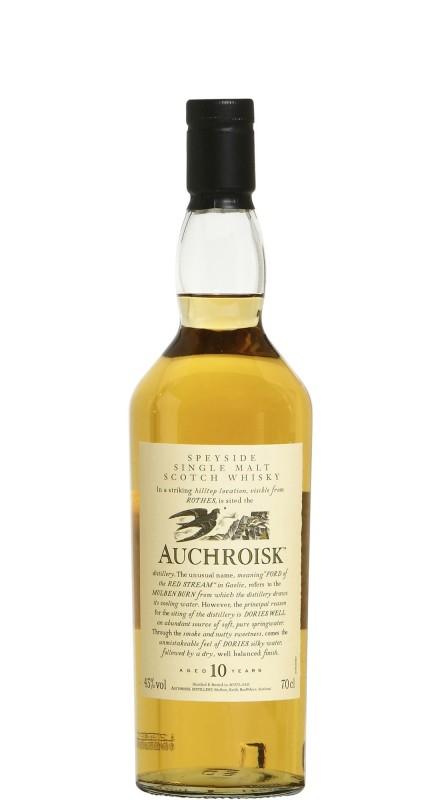 Auchroisk 10 Y.O. Single Malt Whisky