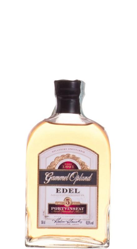 Gammel Opland Edel Port Akvavit