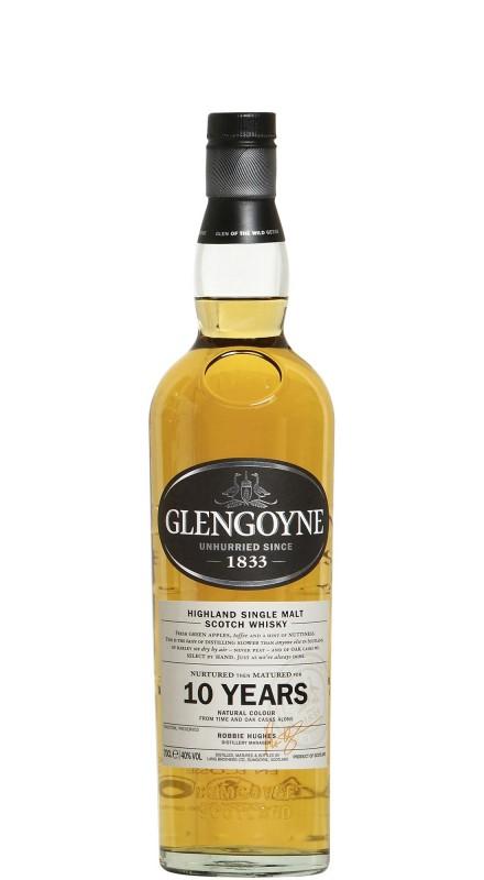 Glengoyne 10 Y.O. Single Malt Whisky