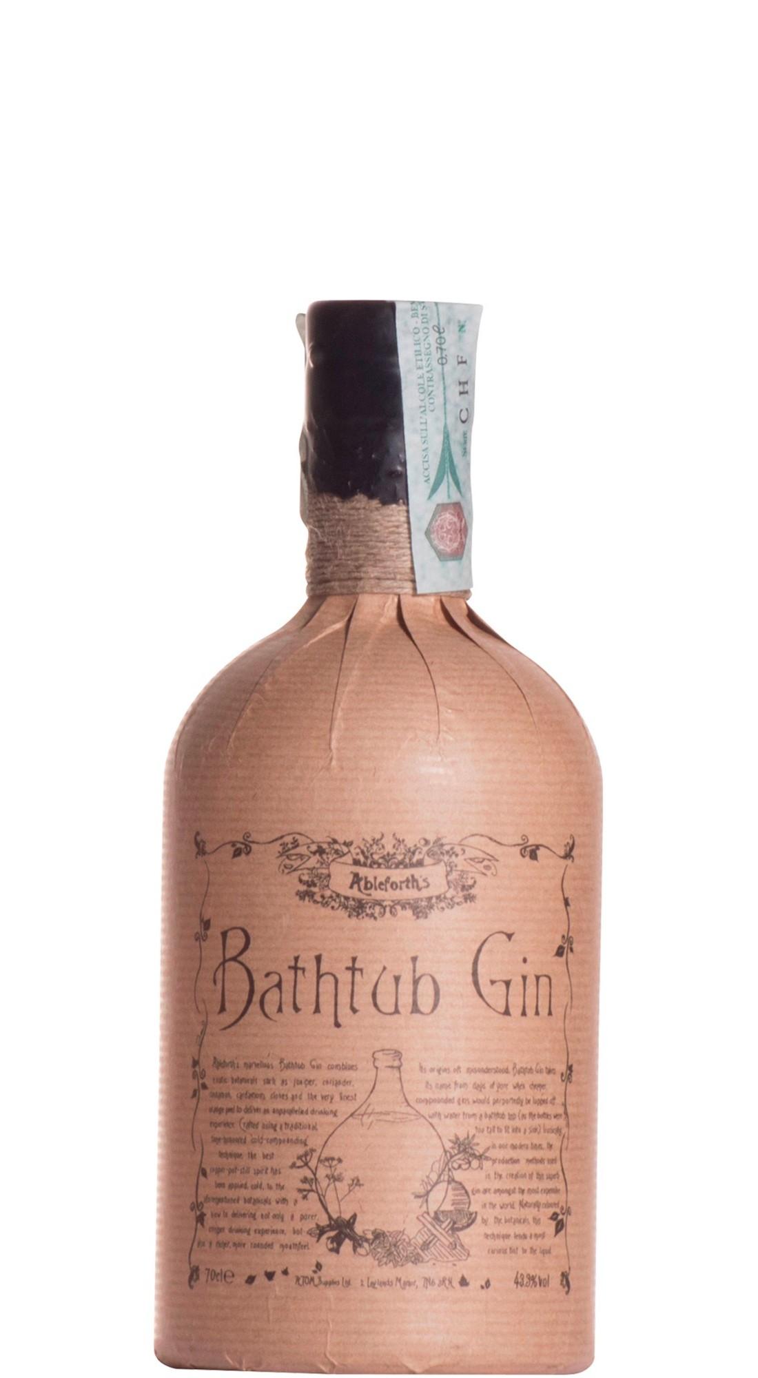 Ableforths Bathub Gin 43 3 70 Cl