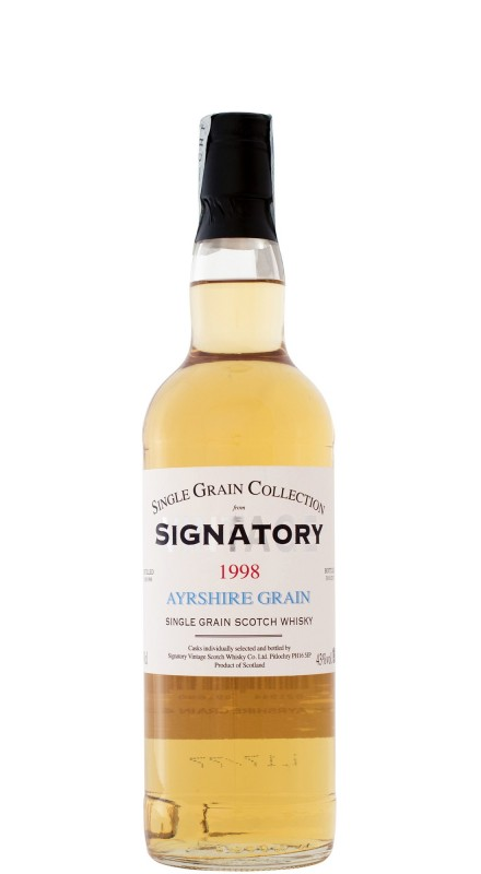 Signatory Ayrshire Grain 17 Y.O. 1998 Single Grain Whisky