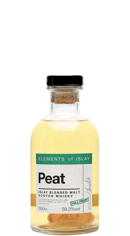 Elements Of Islay Peat Blended Malt Whisky (Full Proof)