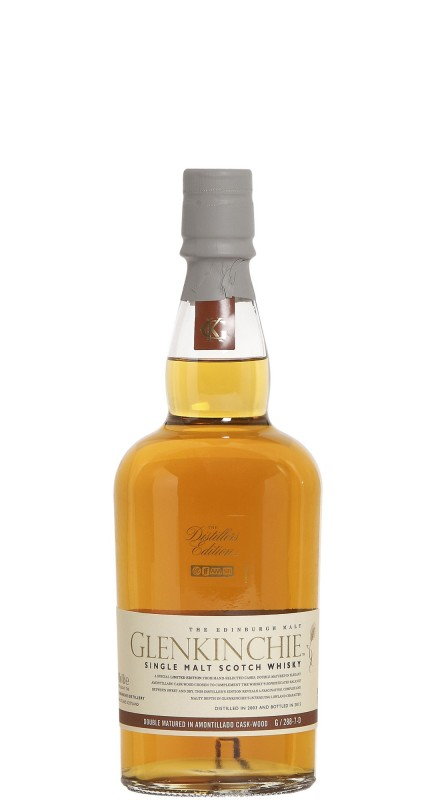 Glenkinchie 2003 Distillers Edition Single Malt Whisky