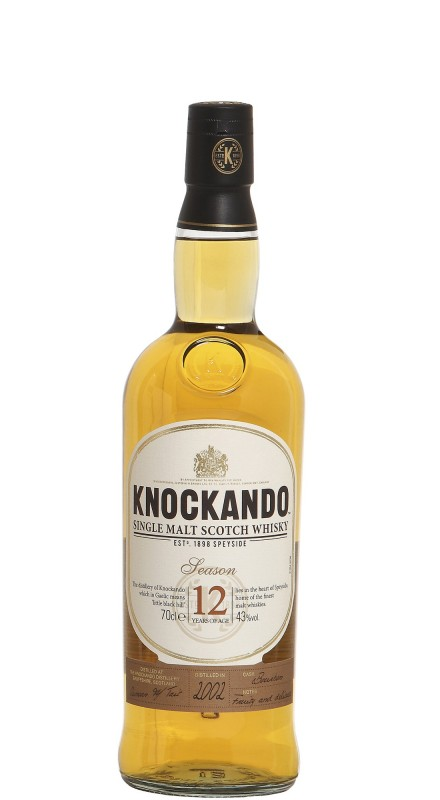 Knockando 12 Y.O. Season Single Malt Whisky