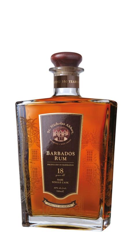 St. Nicholas Abbey 18 Y.O. Single Cask Rum