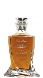 Paul Giraud Tres Rare Crystal Decanter Cognac