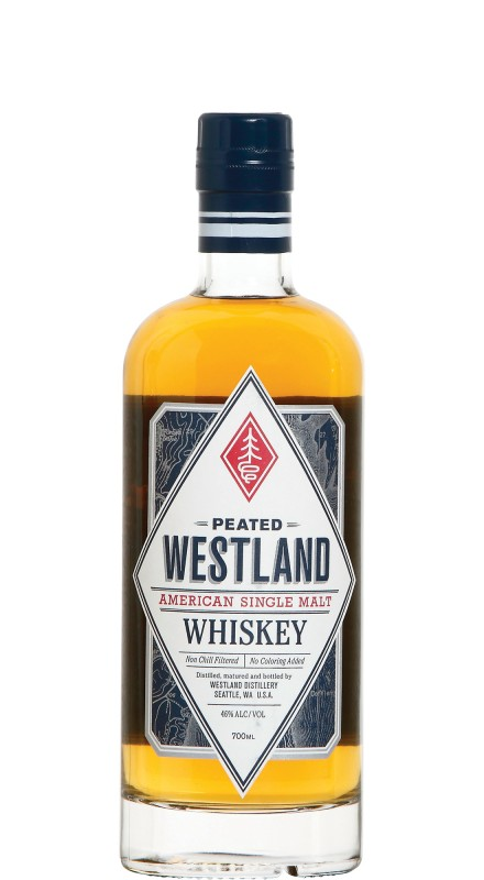 Westland American Single Malt Peated American Whiskey