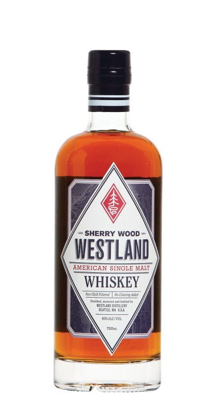 Westland American Single Malt Sherry Wood American Whiskey