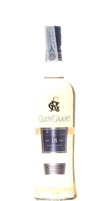 Glen Grant 18 Y.O. Single Malt Whisky