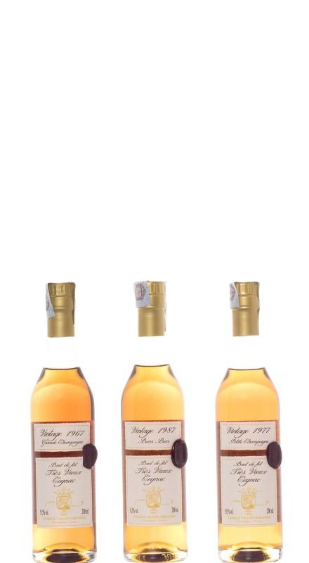 Vallein Tercinier Coffret 120 Y.O. Cognac - LMDW Cellar Book
