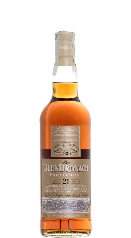 Glendronach 21 Y.O. Parliament Single Malt Whisky
