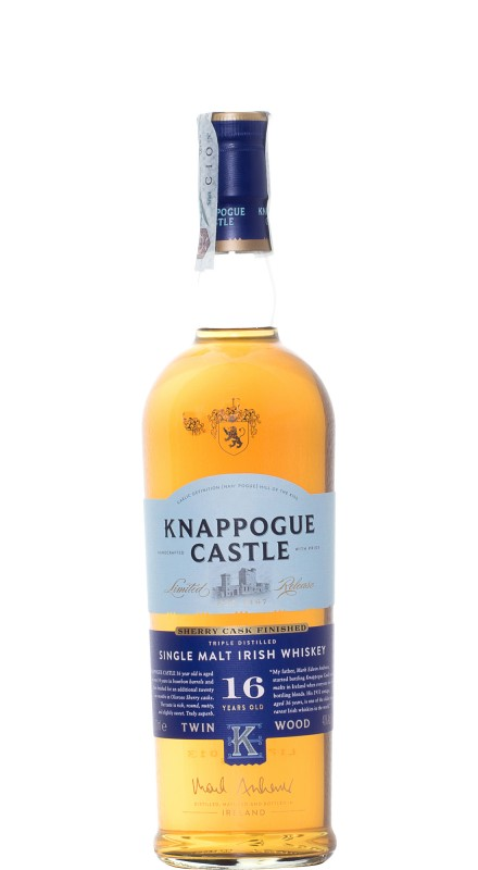 Knappogue Castle 16 Y.O. Whiskey