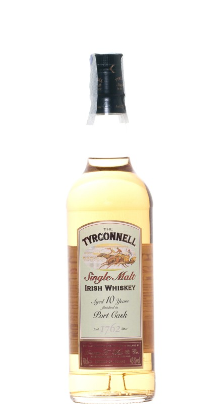 The Tyrconnell 10 Y.O. Port Finish Single Malt Whisky