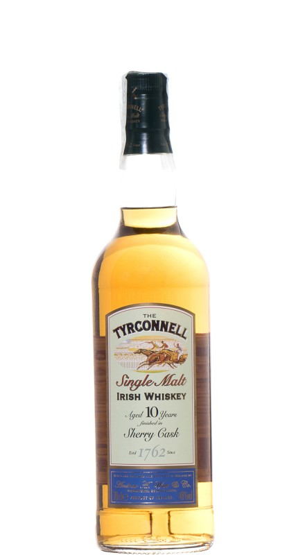 The Tyrconnell 10 Y.O. Sherry Finish Single Malt Whisky