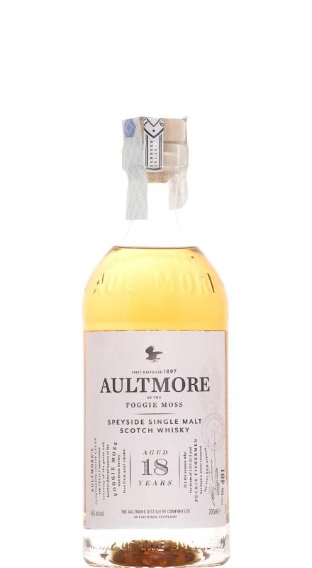 Aultmore 18 Y.O. Single Malt Whisky