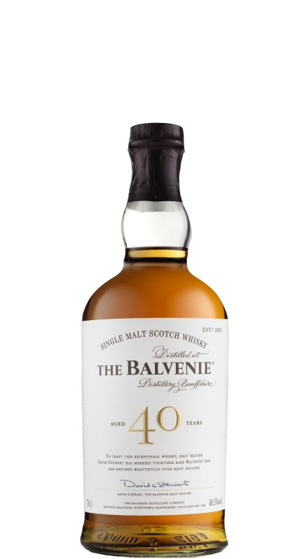 Balvenie 40 Y.O. Single Malt Whisky