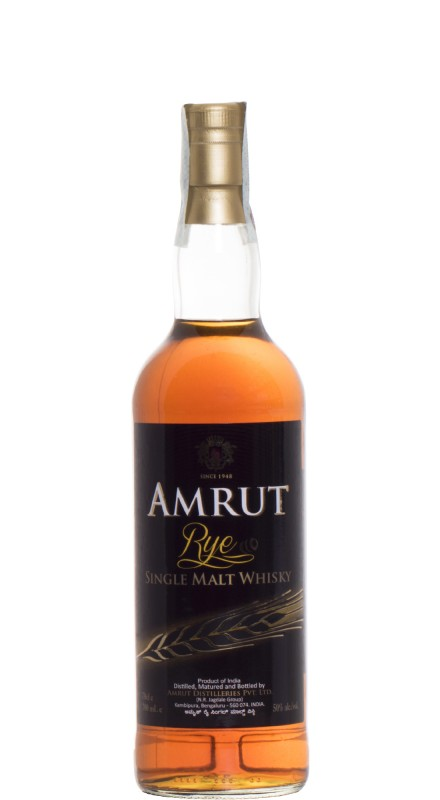 Amrut Rye Single Malt Whisky