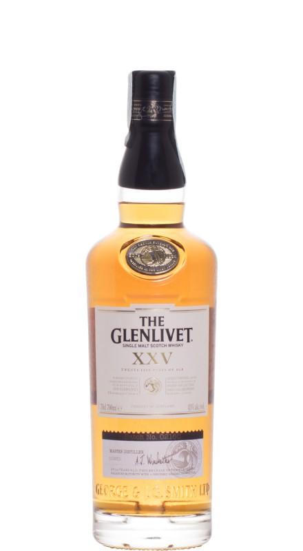 Glenlivet 25 Y.O. Single Malt Whisky