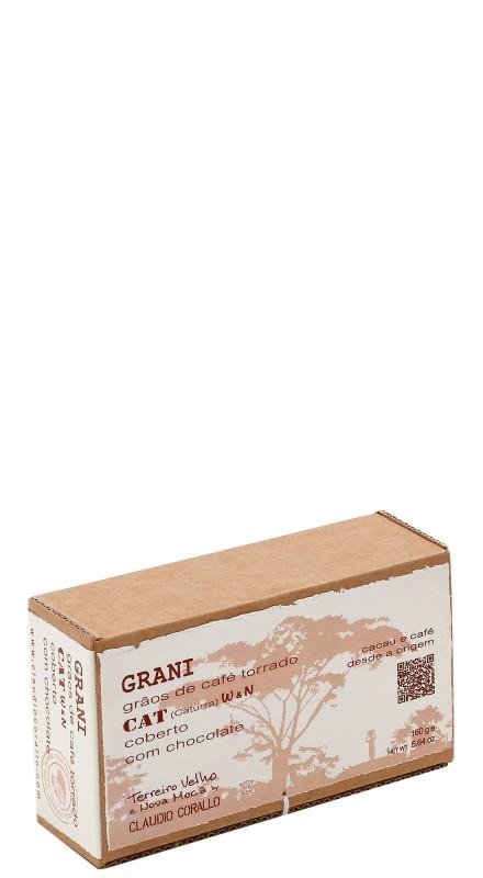 Cioccolato Corallo - CAT - Grani Di Caffe' Ricoperti Di Cioccolato (Washed, Natural)