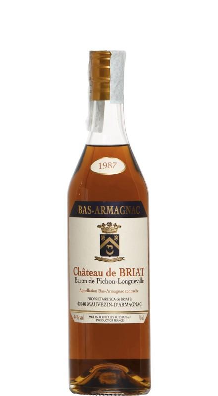 Chateau De Briat 1987 Armagnac